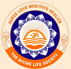 The Crest Of Divine Life Society Symbolizes Synthesis Four Great Paths To God Realization Viz Karma Yoga Bhakti Raja And Jnana